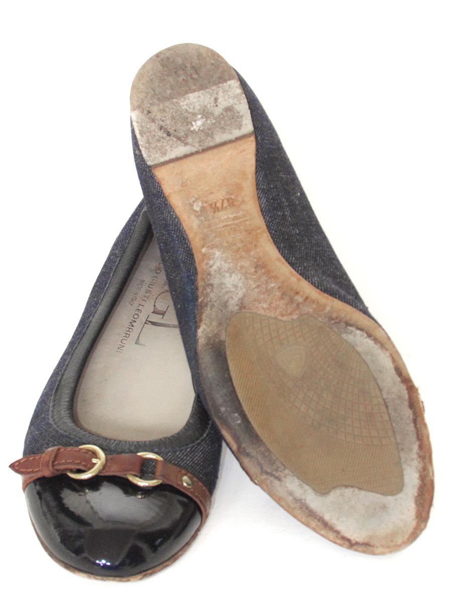 AGL Denim Cap Toe Ballet Flats sz 7.5