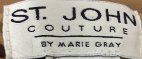 St. John Couture Label
